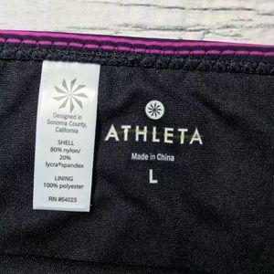 Athleta Swim - Athleta Capri Stripe Side Smocked Bikini Bottom